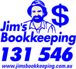 Jims bookkeeping logo with 131546