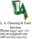 LA Cleaning and Yard Services