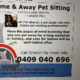Home & Away Pet Sitting And Concierge Service