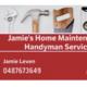 Jamie's Home Maintenance And Handyman Service