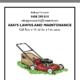 Ash's Lawns And Maintenance